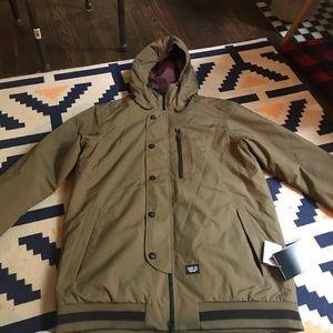 New xl men's snowboarding jacket